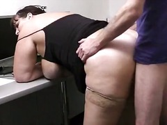 Win Porn - Heavy girl banged in office