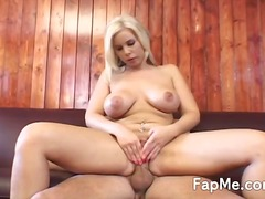 Huge knocker honey is addicted to the big cock