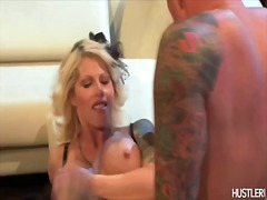 Blond milf slut Brooke...