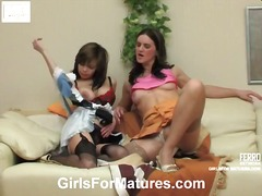 Yobt TV Movie:Martha and Gertie lesbian seni...