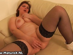 masturbation, wife, nylons, mature,