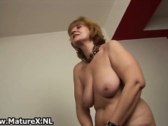 Thumb: Old naked housewife is...