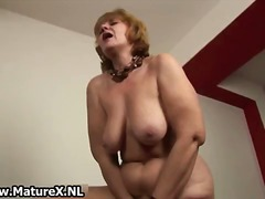 DrTuber - Old naked housewife is...