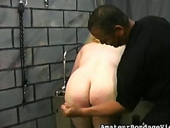 WinPorn Movie:Chubby slut restrained