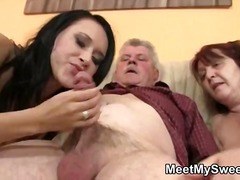 mature, amateur, threesome, k.d.