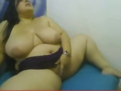 Colombian bbw big boob... video