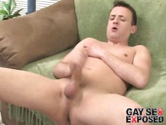 Red erotic solo gay ma...
