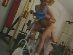 Anal sex in gym video