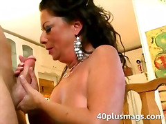 brutal housewife sucki... video