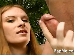 Sexy slut wanks the cock c... - 05:10