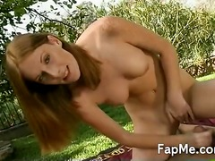 Yobt TV - Sexy slut wanks the co...