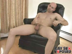 See: Bald gay brings large ...