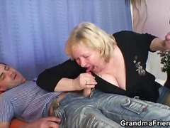 ProPorn Movie:Mature babe filled with two ho...