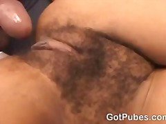 Tube8 Movie:Hot chick gets her hairy pussy...