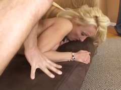 Win Porn - Sexy mature blonde lady with a nice perky rack gets nailed in the ass