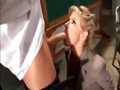Teacher demonstrates sex for students