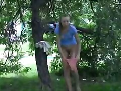 blonde, outdoors, outdoor,