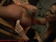 Mandy Bright the dominating mistress is back. And this time...