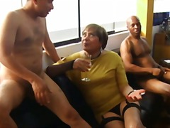 threesome, mature, crossdresser