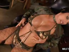 ProPorn Movie:Stocking MILF Dishes out Her P...
