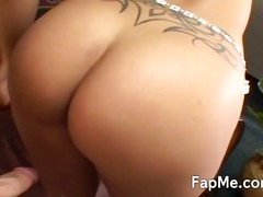 Hot Latina wanks a cock like a professional