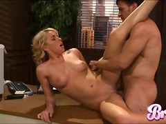 Thumb: Bree Olson in office f...