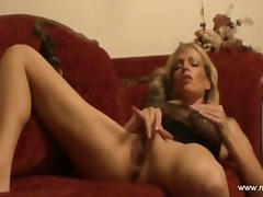 masturbation, fingering, blonde