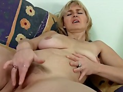 Thumb: Masturbating mom