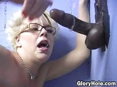 fetish, milf, gloryhole, blowjob