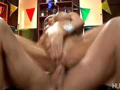 Win Porn - Busty blond babe Helly Mae Hellfire dirty talking while riding on huge cock