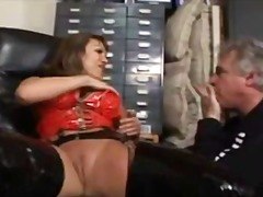WinPorn Movie:Stocking Babe Enjoys Hot Oral