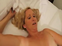 Horny mature in flawless lingerie fuc...
