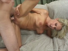 Over Thumbs Movie:Blonde Sexpot Rides Her Stepso...