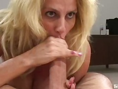 oral, 3some, blowjob, blonde, hardcore