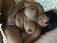 Black chick gets cock ... video
