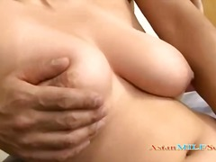 Hard Sex Tube - Busty Milf Getting Her Tits Rubbed Hairy Pussy Licked By Husband Sucking His Cock On The Bed