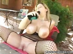 outdoors, milf, big-tits, toys,