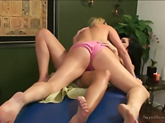 Over Thumbs Movie:A sensual massage turns into h...