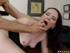 brunette, pussy-eating, bitch