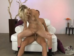 dee,  blonde, pussy-eating, ass,