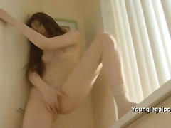 solo, brun, girl-on-girl, shaved