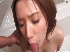Alpha Porno Movie:Chick on her knees sucks out a...