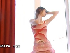 Dance and teasing in p... video