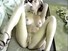 See: BUSTY DOLLY TOYING HER...