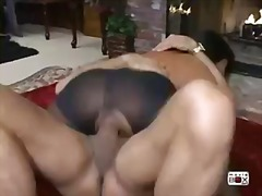 deepthroat, pantyhose, bubble-butt, cumshot, pornstar, blowjob, milf, brunette, big-dick, big-tits, cock-riding, latina, hardcore
