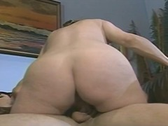 WinPorn Movie:Pregnant brunette eats cock an...