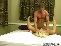 spy, blonde, facials, cumshot,
