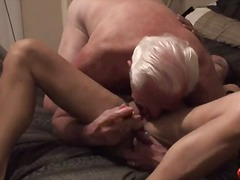 Mature couple while she screams with ...