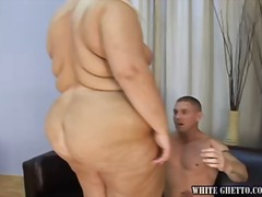 Yobt - Sexy blonde BBW enjoys...