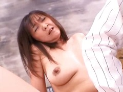Asian mature nailed